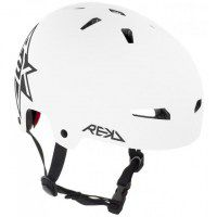 REKD Elite Icon Helmet White / Black